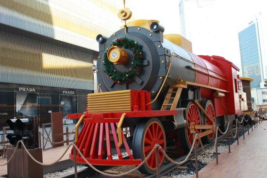 圣诞神秘光环列车