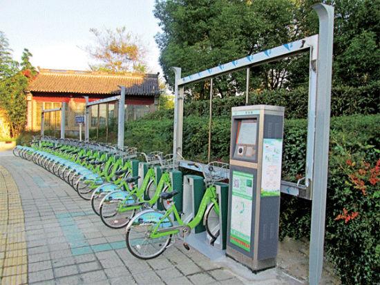 公共自行车不打算加装儿童座椅图片