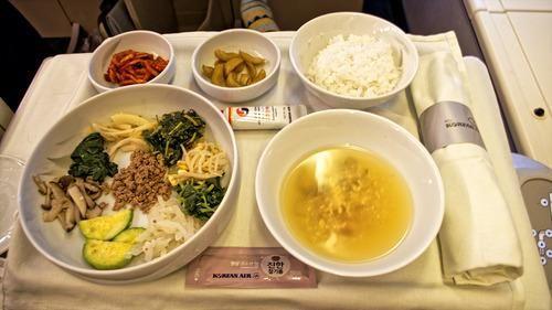 那些好吃的飞机餐们