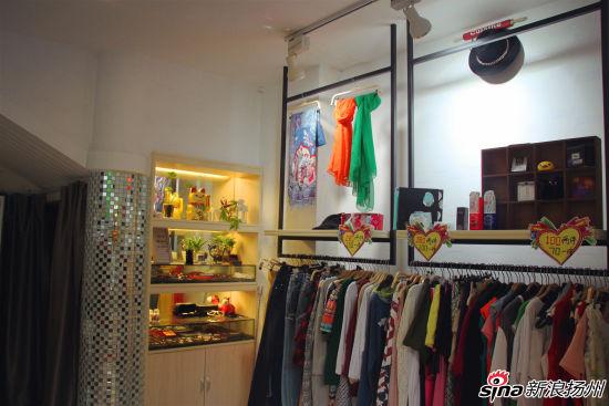 欧式服装店内部照片