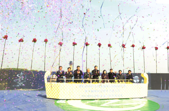 2015年中国泰州姜堰溱潼会船节开篙