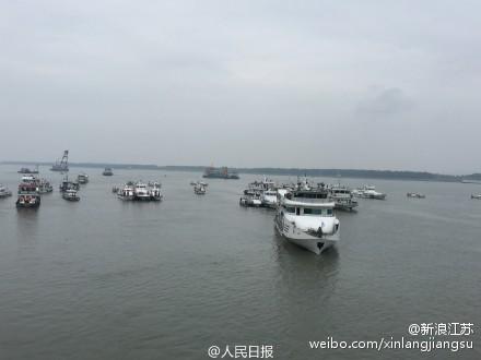 长江沉船遇难人数升至432人