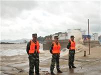 台风灿鸿逼近浙江沿海 当地转移超22万人