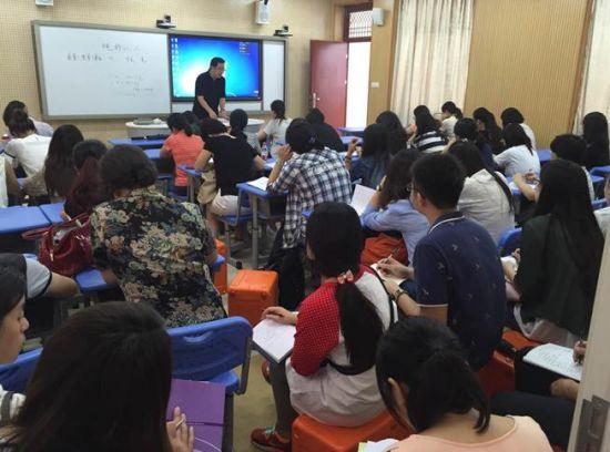 上海浦东逾70位校领导及教师参观文香录播_新