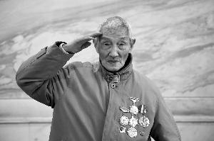南京保卫战老兵忆战争岁月:我在南京九死一生