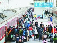 春运首日南京公铁航发送旅客22.2万人次
