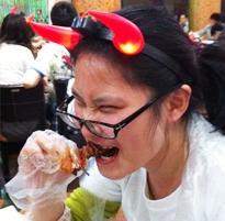 吃龙虾最霸气表情