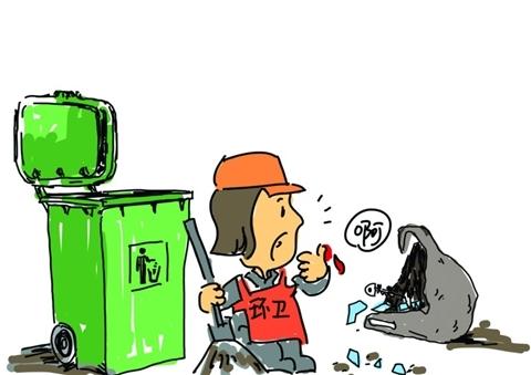 """看似平常的垃圾桶,里面藏着""""暗器"""""""