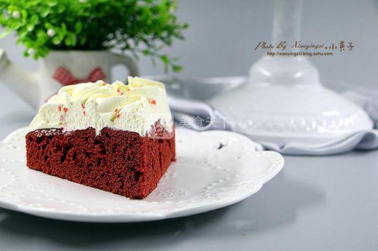红丝绒奶油蛋糕