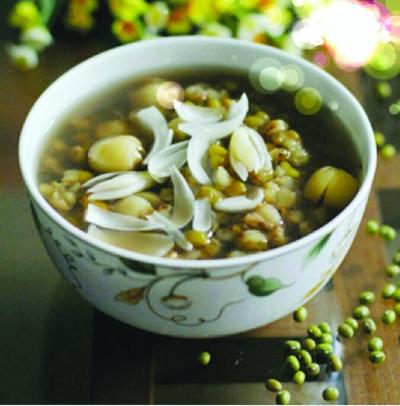 绿豆百合能淡斑