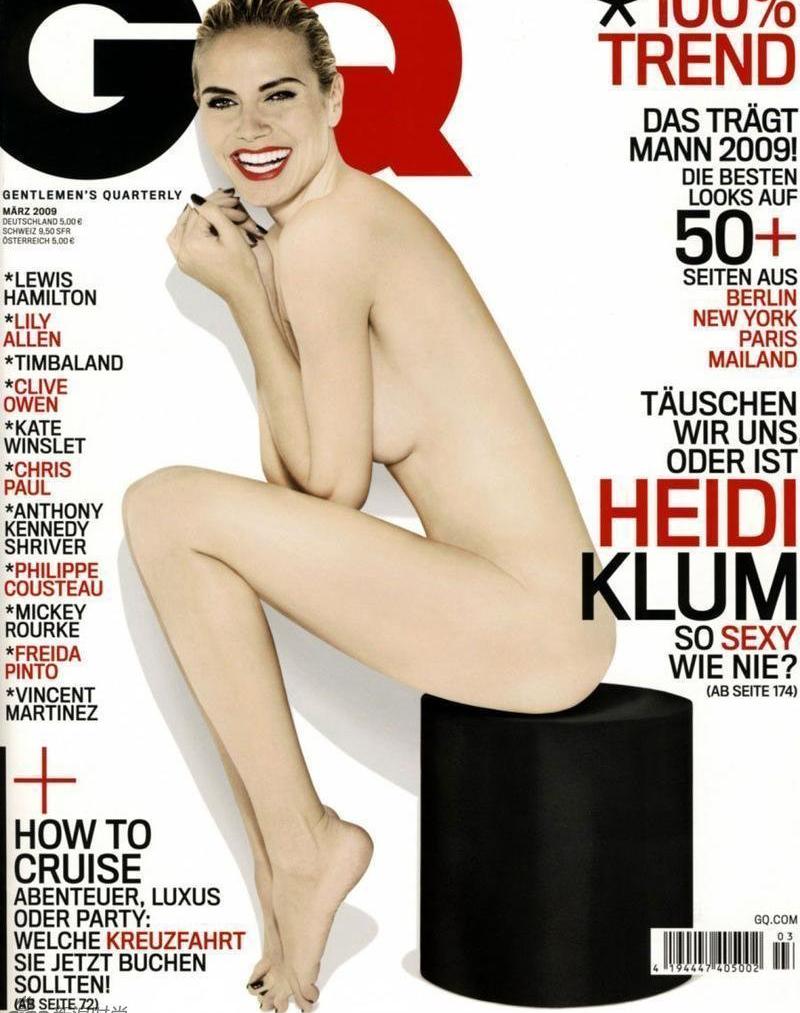 欧美众女星大尺度登时尚杂志