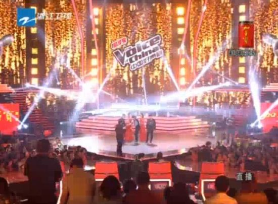 视频:中国好声音 李琦夺冠时刻